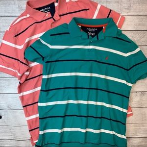 NAUTICA Performance Deck Shirt - 2 Shirts Large